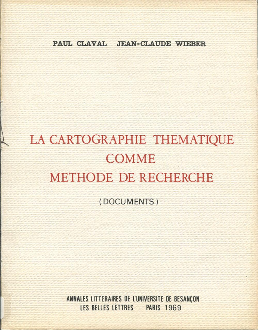 La cartographie thématique comme méthode de recherche