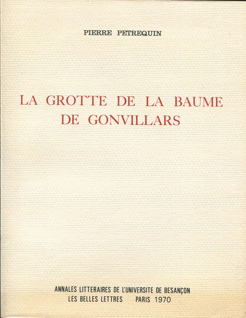 La grotte de la Baume-de-Gonvillars