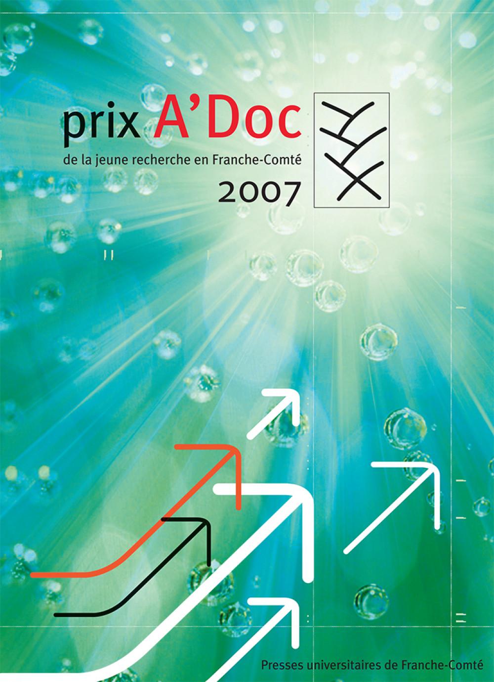 Prix A'Doc de la jeune recherche en Franche-Comté 2007