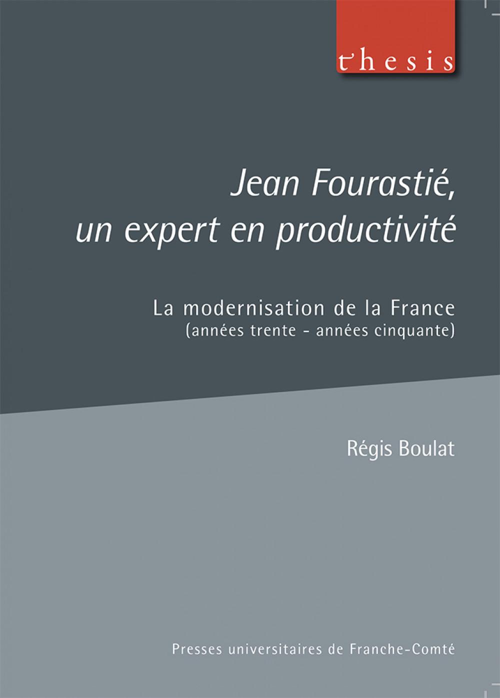 Jean Fourastié, un expert en productivité