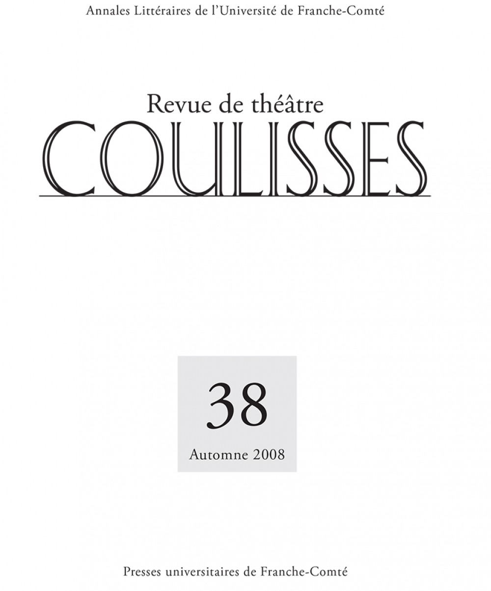 Coulisses 38