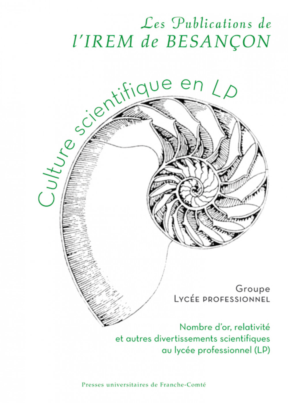 Culture scientifique en LP