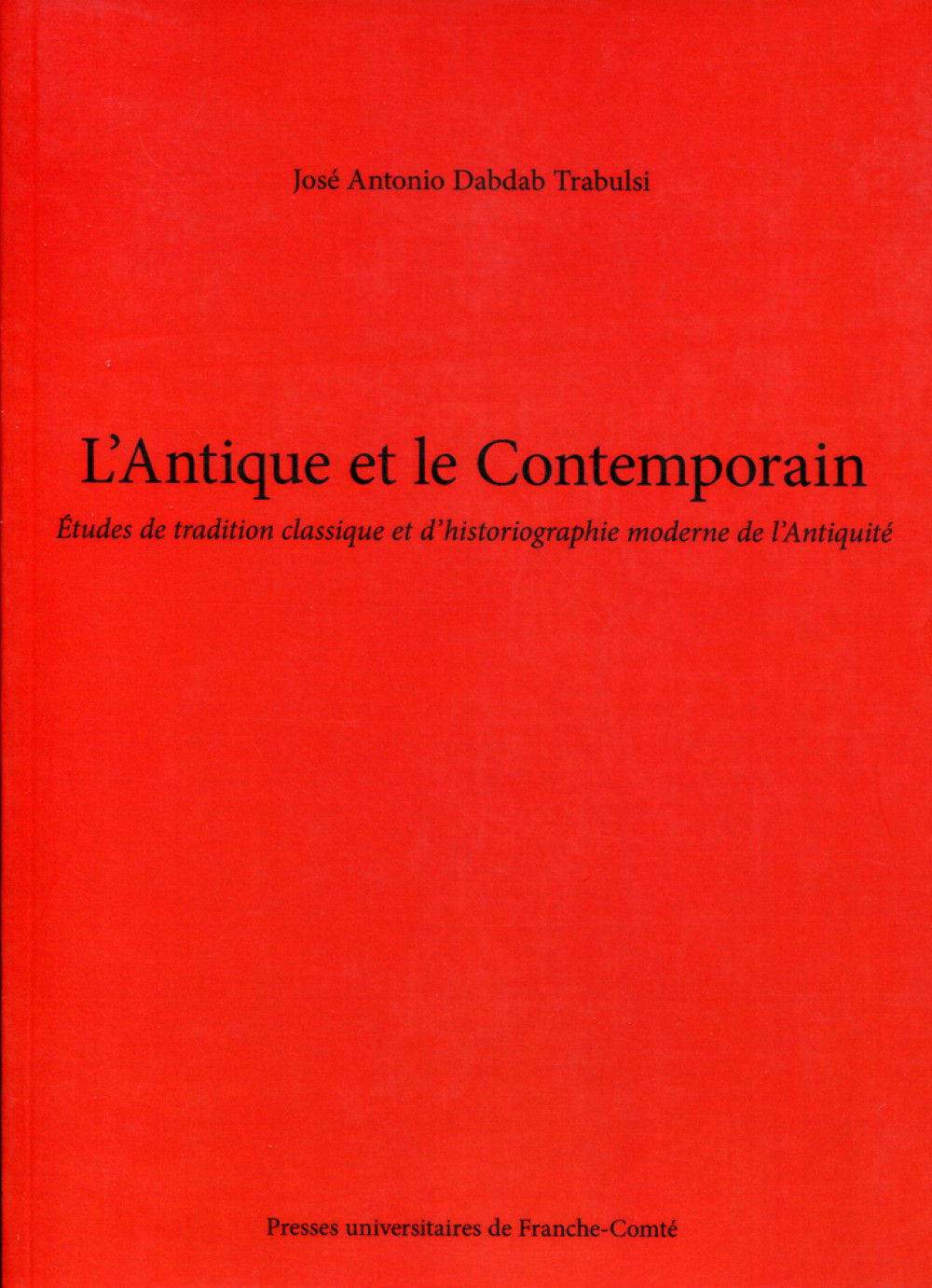 L'Antique et le Contemporain