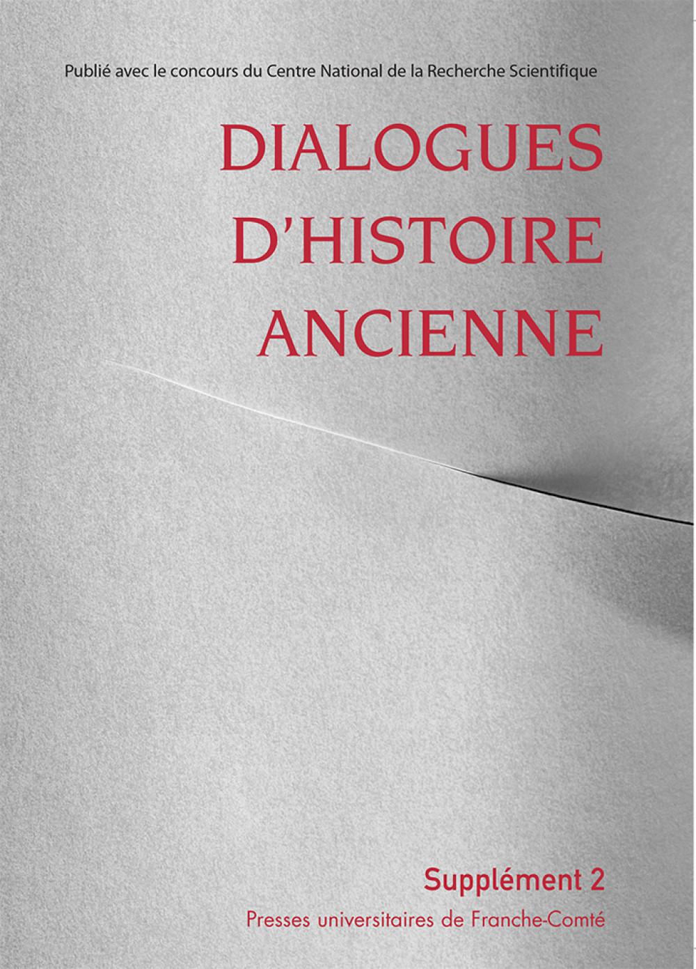 Dialogues d'Histoire Ancienne, supplément 2