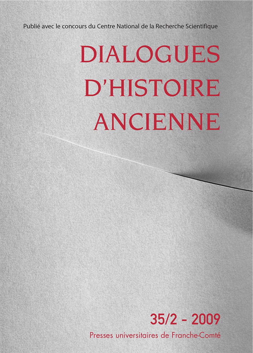 Dialogues d'Histoire Ancienne 35/2