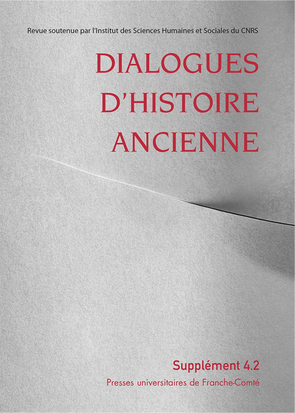 Dialogues d'Histoire Ancienne supplément 4
