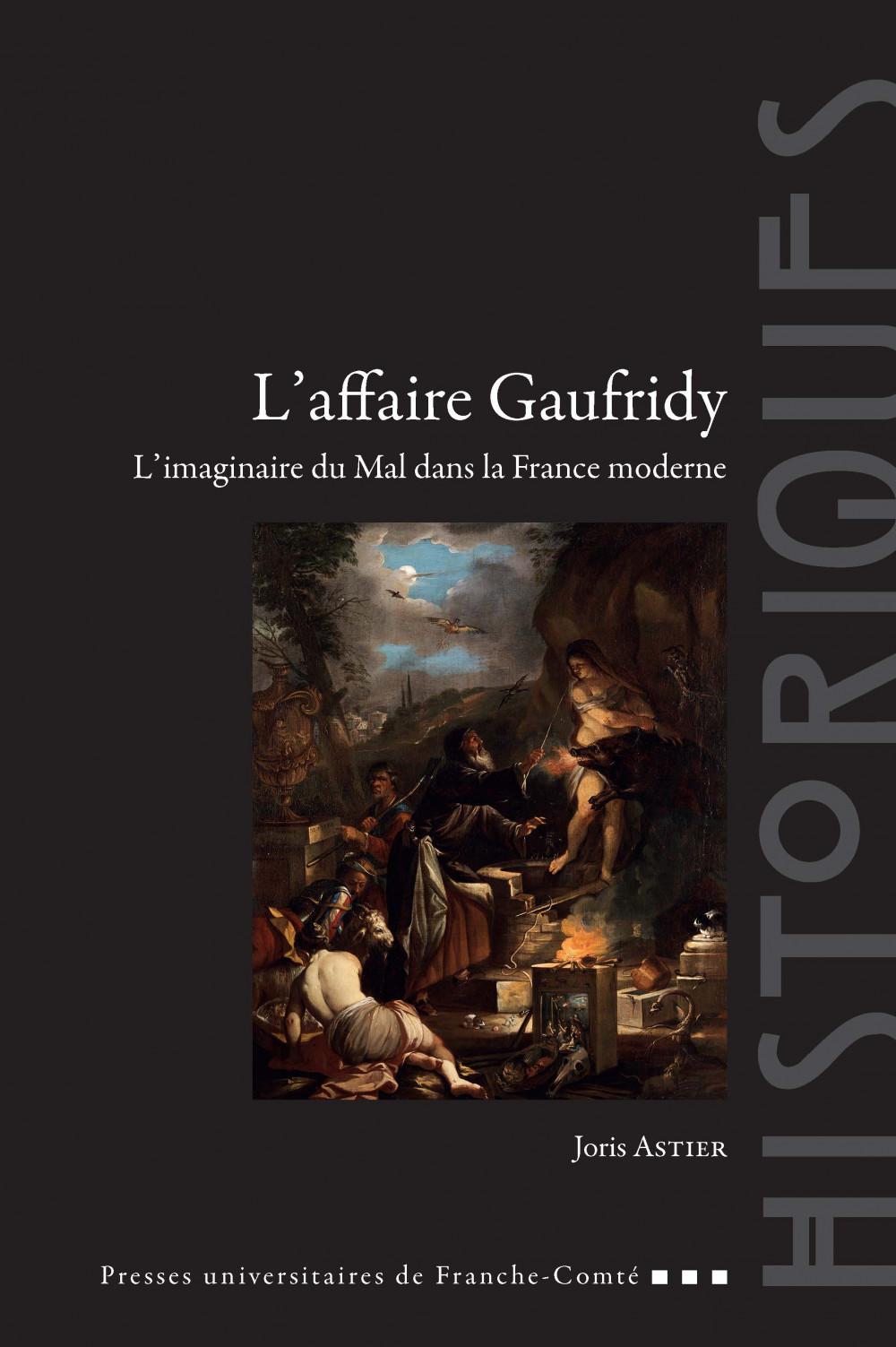 couverture de l'ouvrage L'affaire Gaufridy, de Joris ASTIER