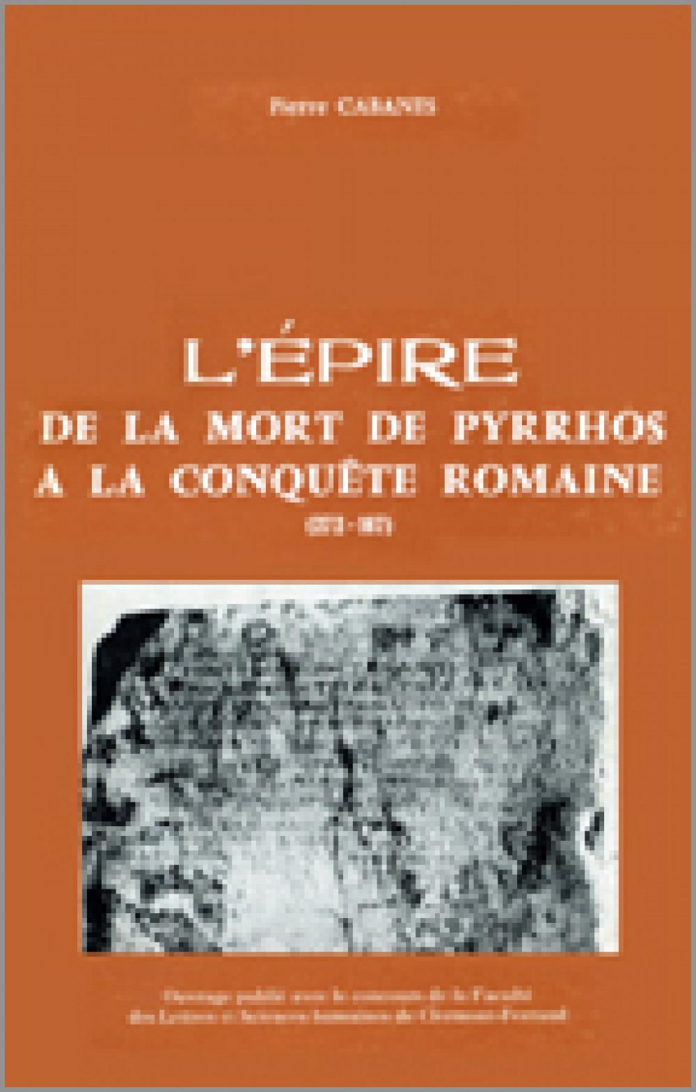 L'Epire, de la mort de Phyrros à la conquête romaine (272-167 av. J.-C.)