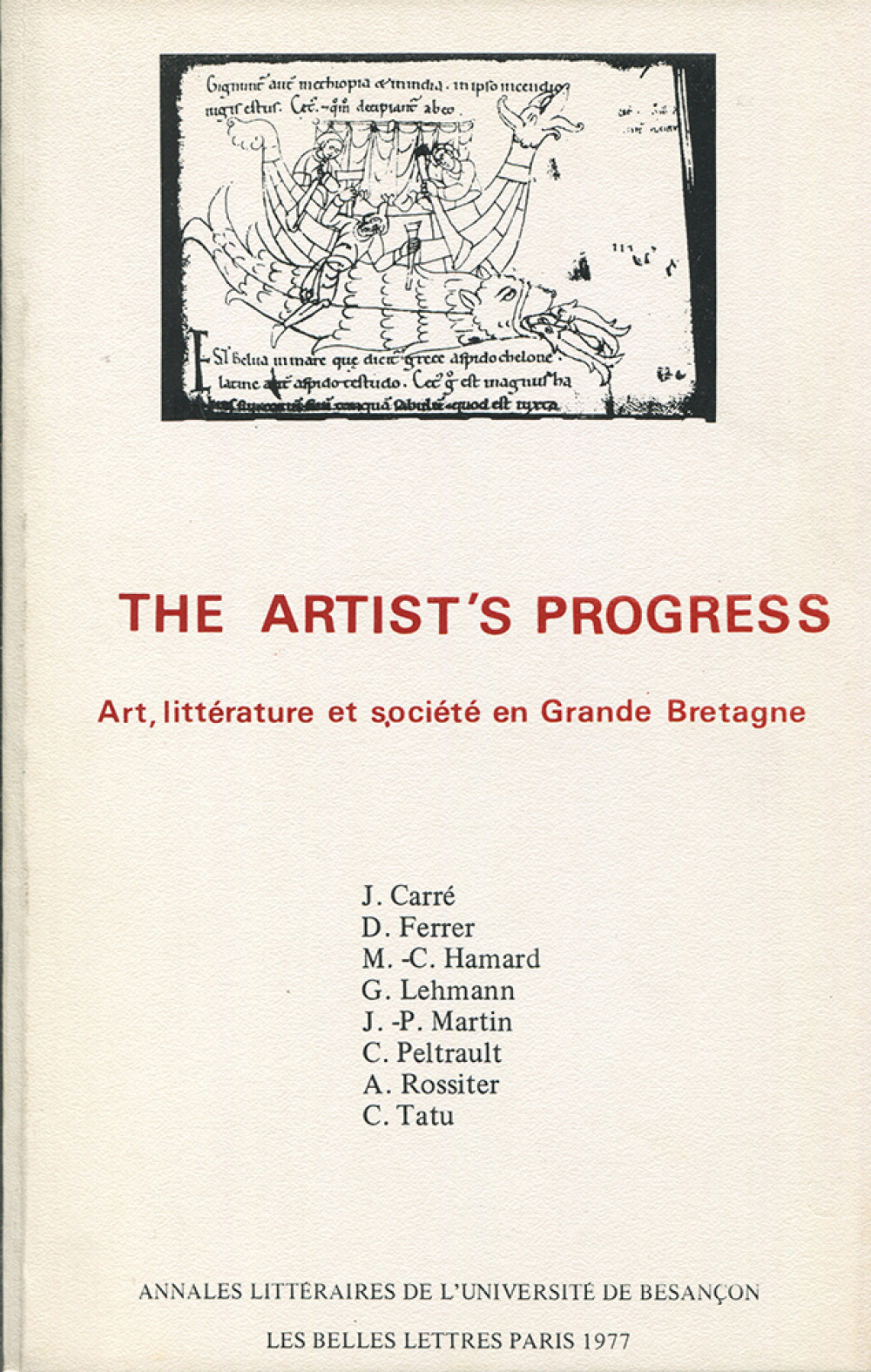 <i>The Artist's Progress</i>