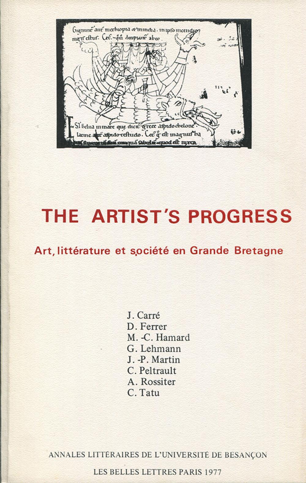 Art, littérature et société en Grande-Bretagne