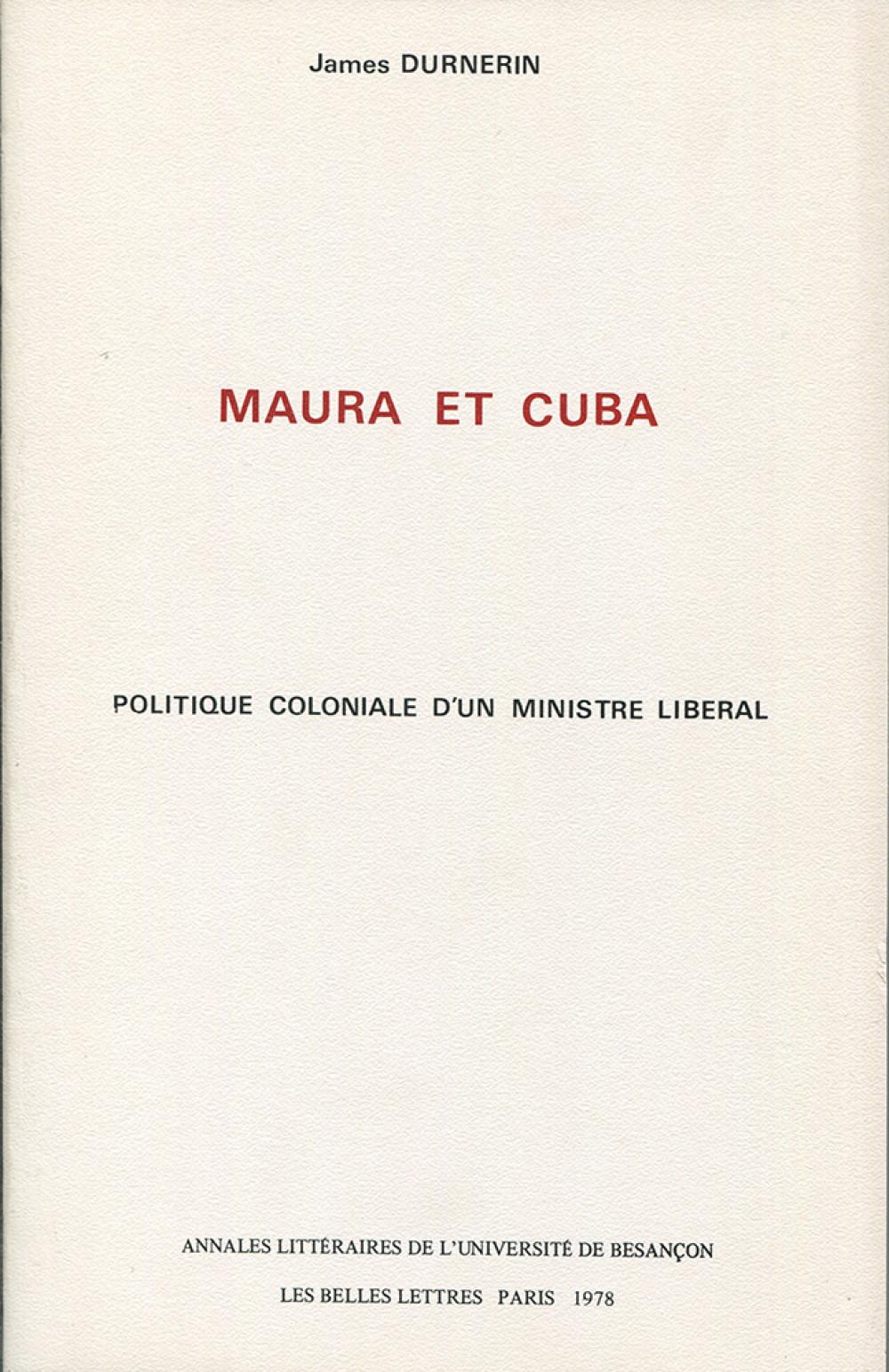 Maura et Cuba