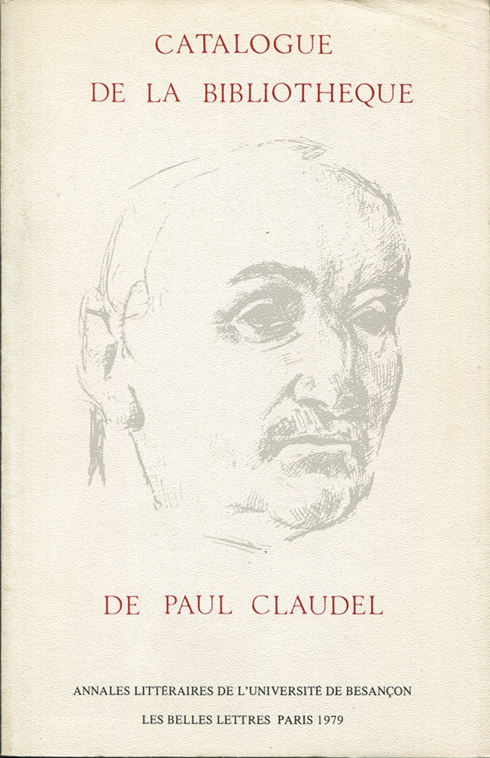 Catalogue de la bibliothèque de Paul Claudel