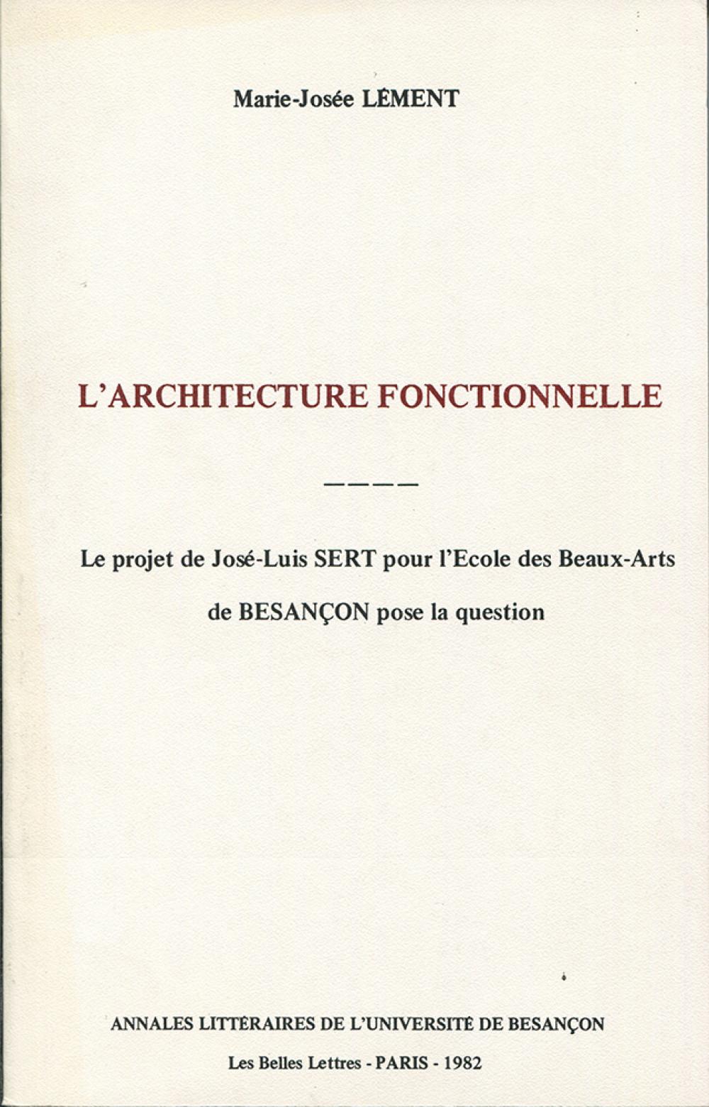 L'architecture fonctionnelle