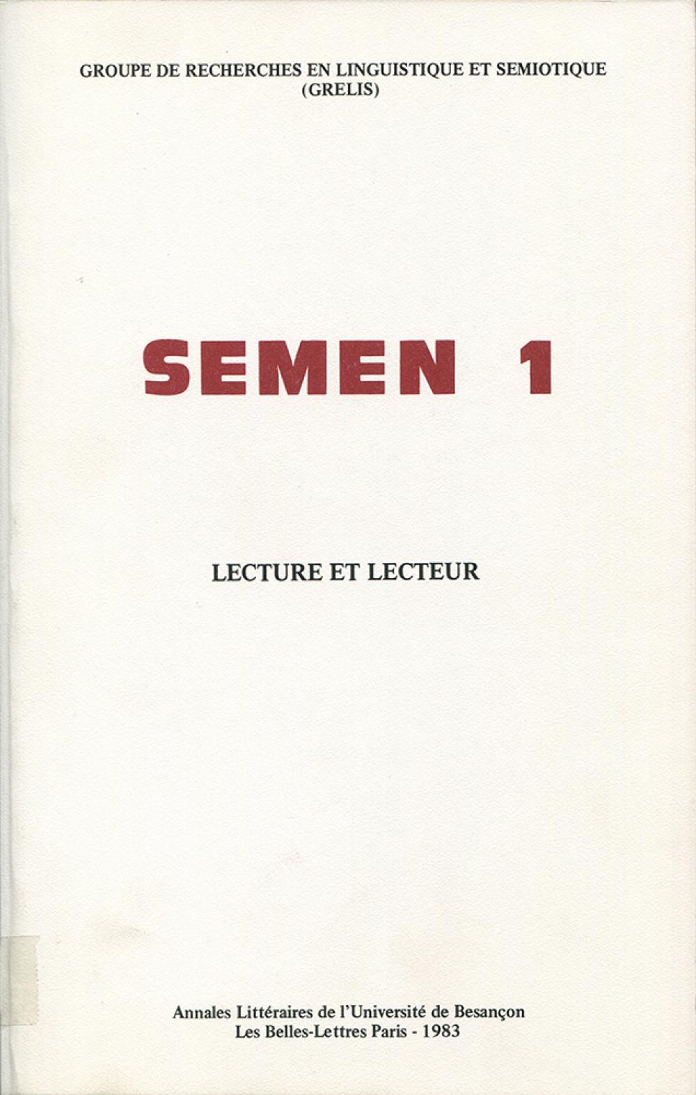 Semen 1