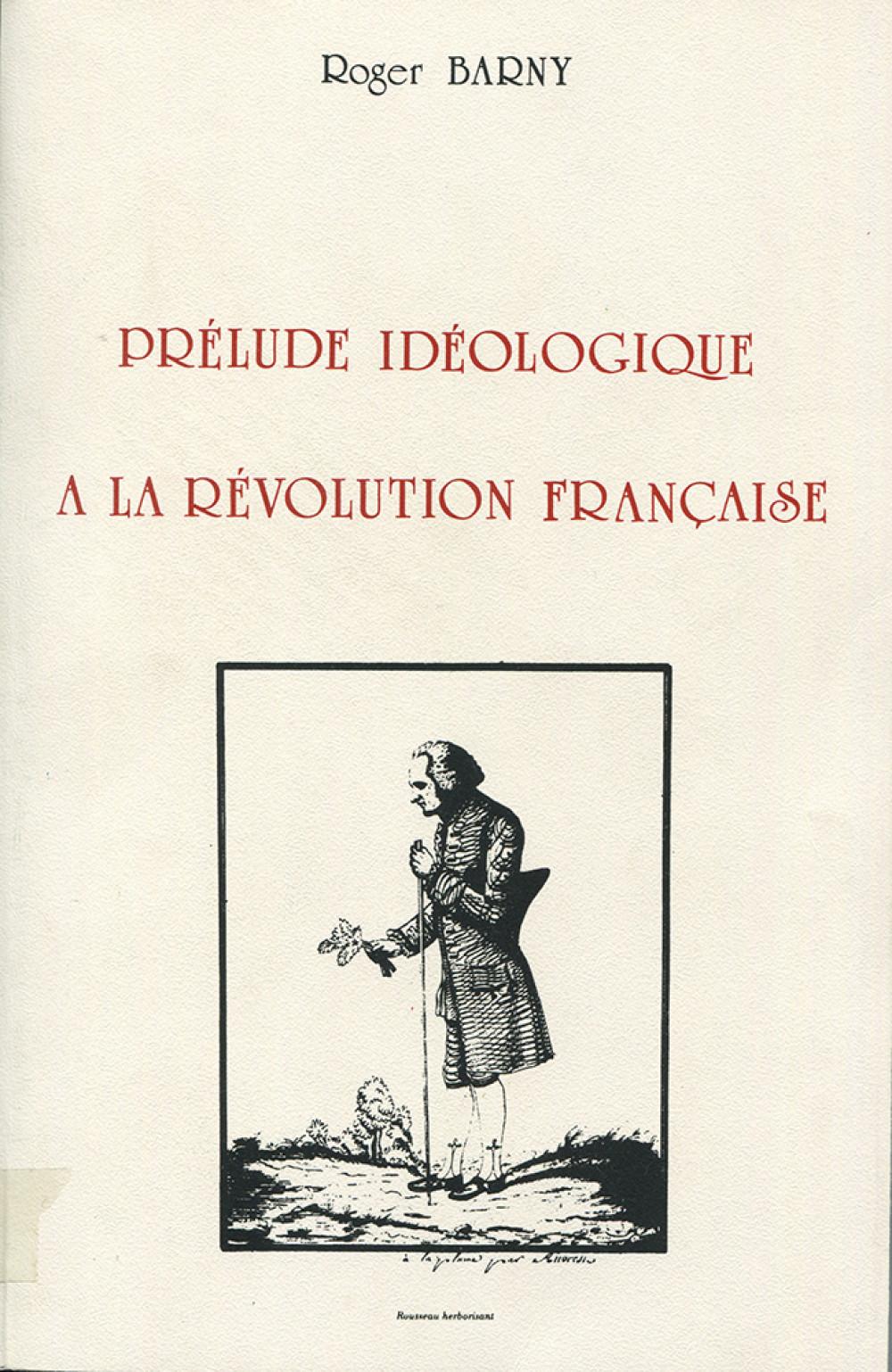 Prélude idéologique à la Révolution française