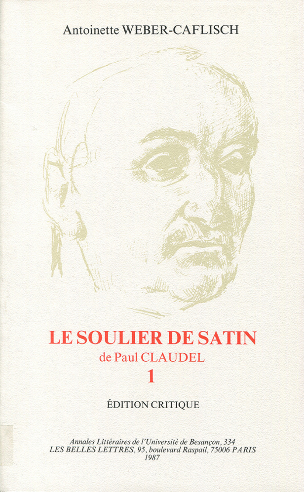 Le soulier de satin de Paul Claudel 1