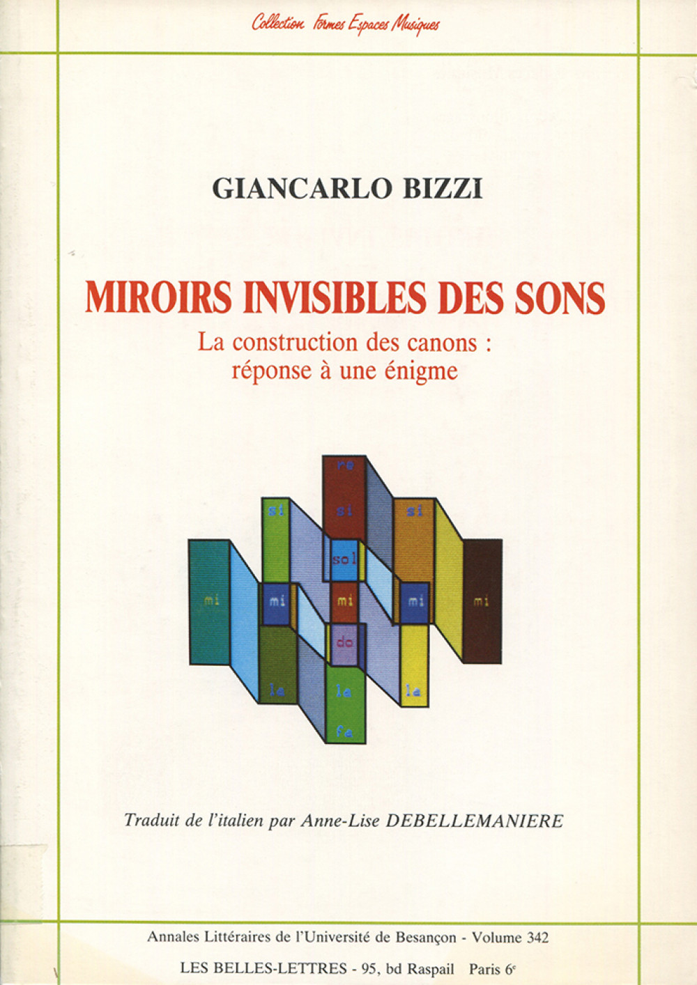 Miroirs invisibles des sons
