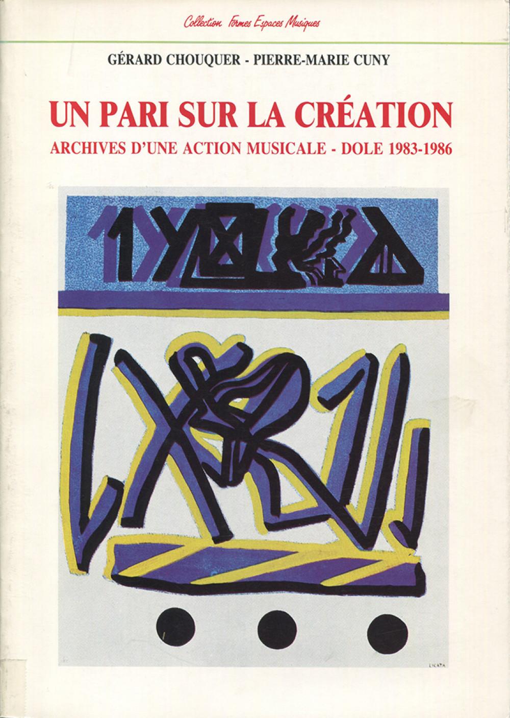 Un pari sur la création
