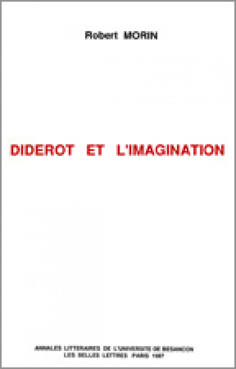 Diderot et l'imagination