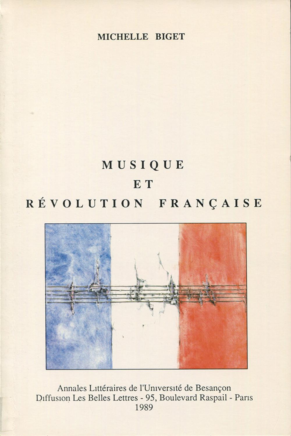 Musique et Révolution Française