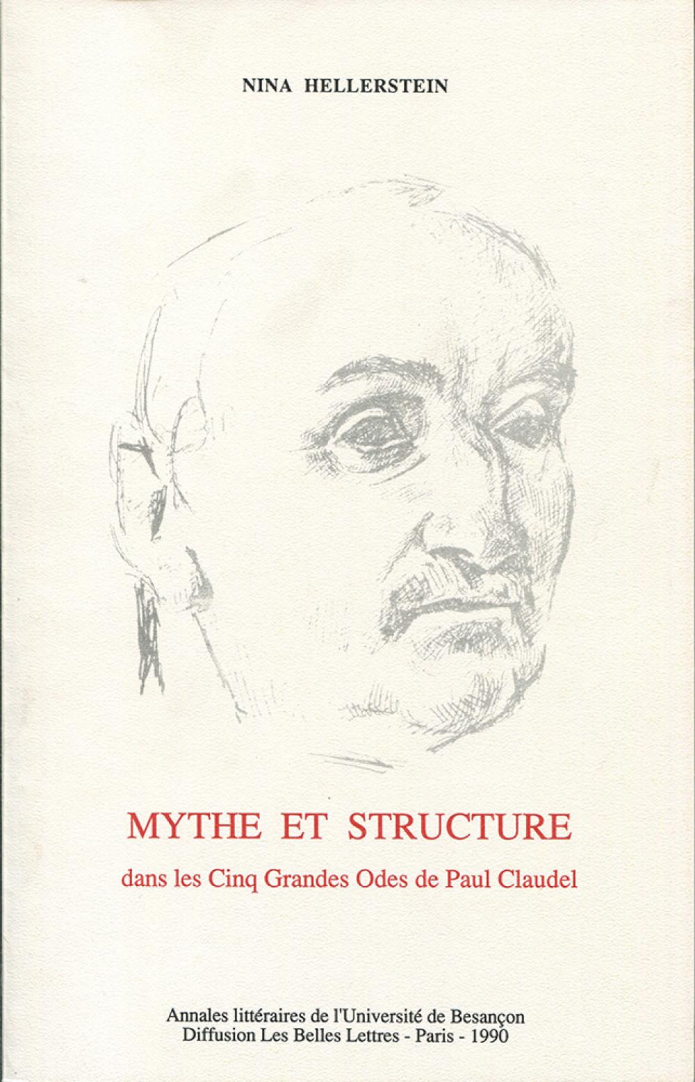 Mythe et structure dans les Cinq Grandes Odes de P. Claudel