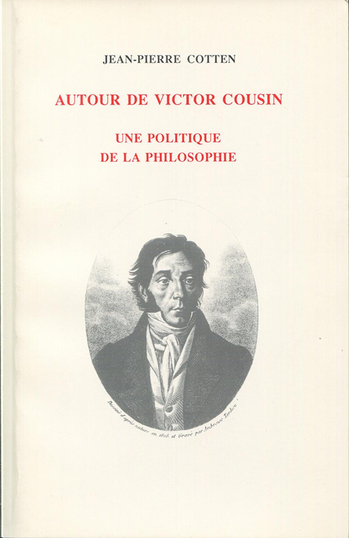 Autour de Victor Cousin