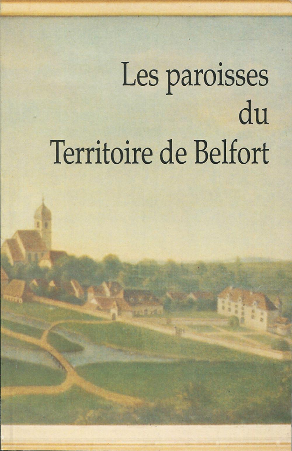Les paroisses du territoire de Belfort