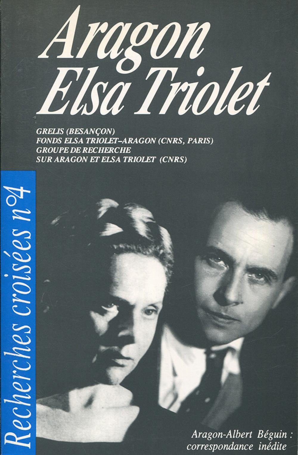Recherches croisées n°4 : Aragon / Elsa Triolet
