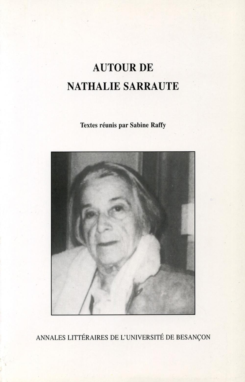 Autour de Nathalie Sarraute