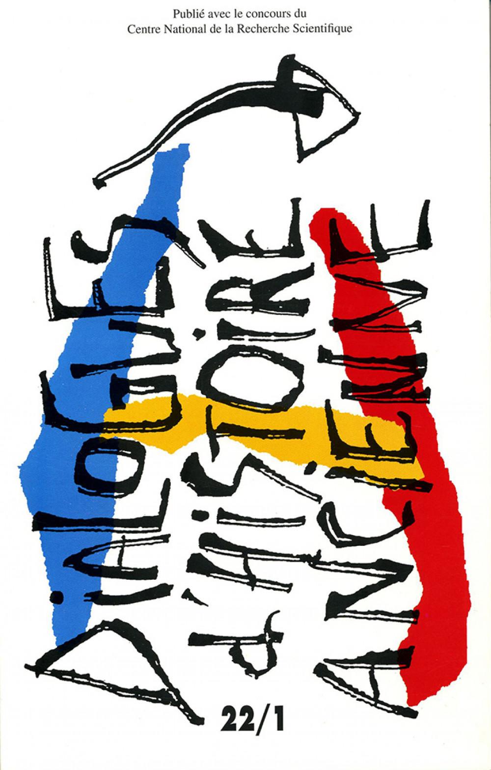 Dialogues d'Histoire Ancienne 22/1