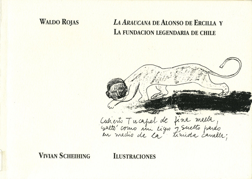 <i>La Araucana</i> de Alonso de Ercilla y la fundacion legendaria de Chile