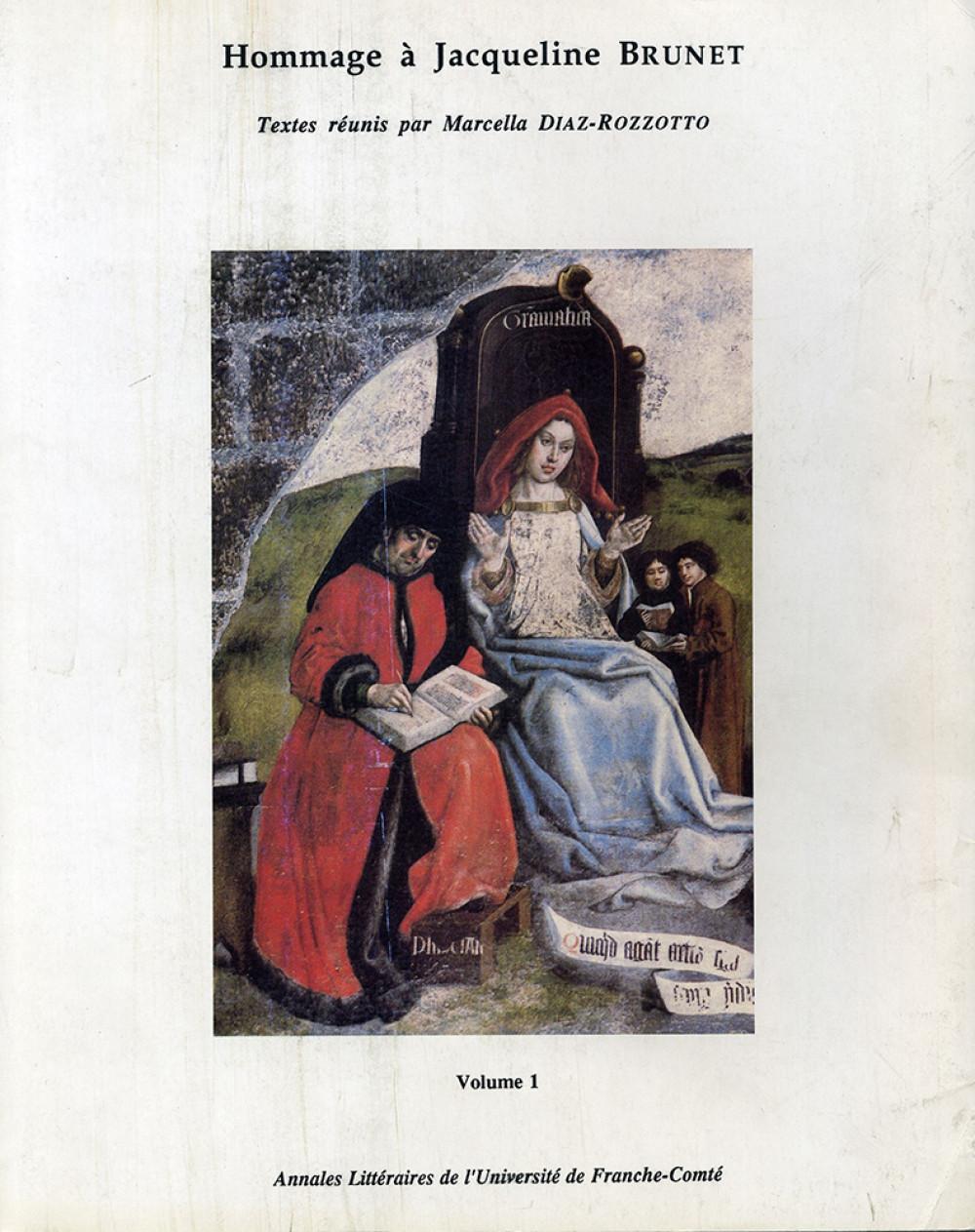 Hommage à Jacqueline Brunet, Volume 1