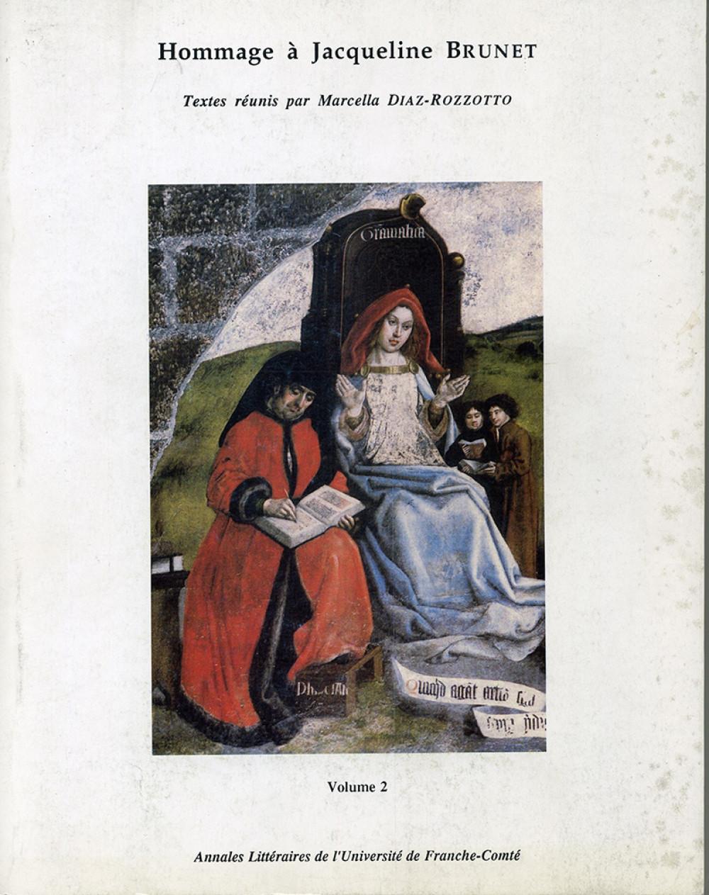 Hommage à Jacqueline Brunet. Volume 2