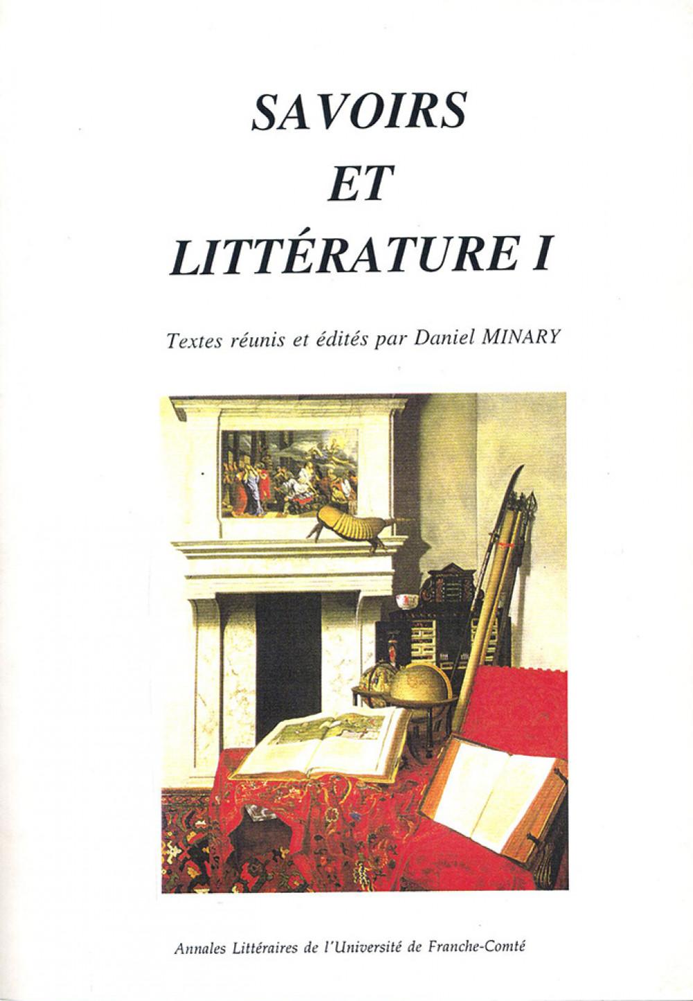 Savoirs et littérature I