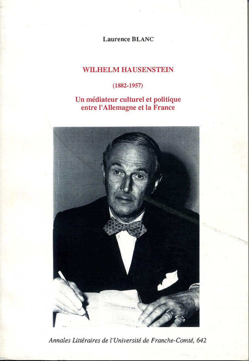 Wilhelm Hausenstein (1882-1957)