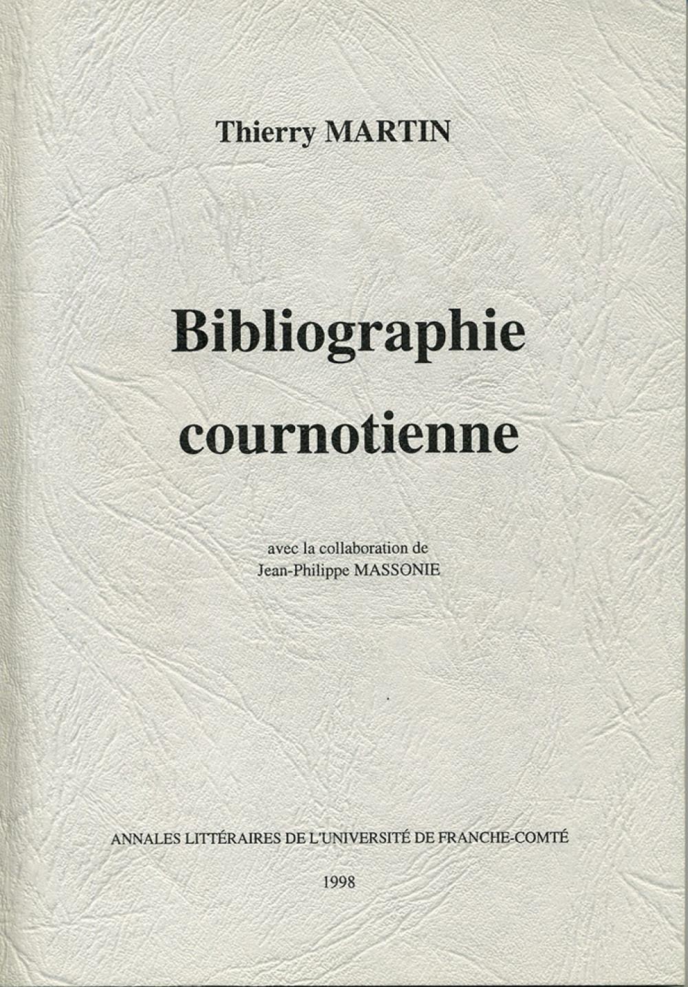 Bibliographie cournotienne