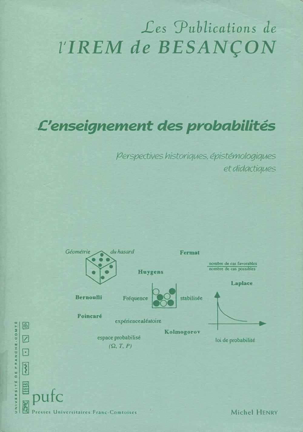 L'enseignement des probabilités