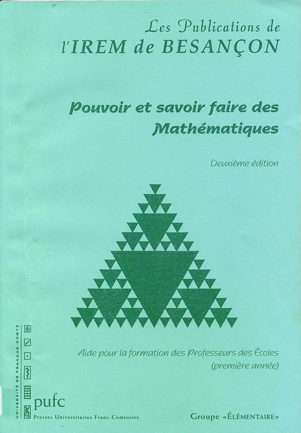 Pouvoir et savoir-faire des mathématiques