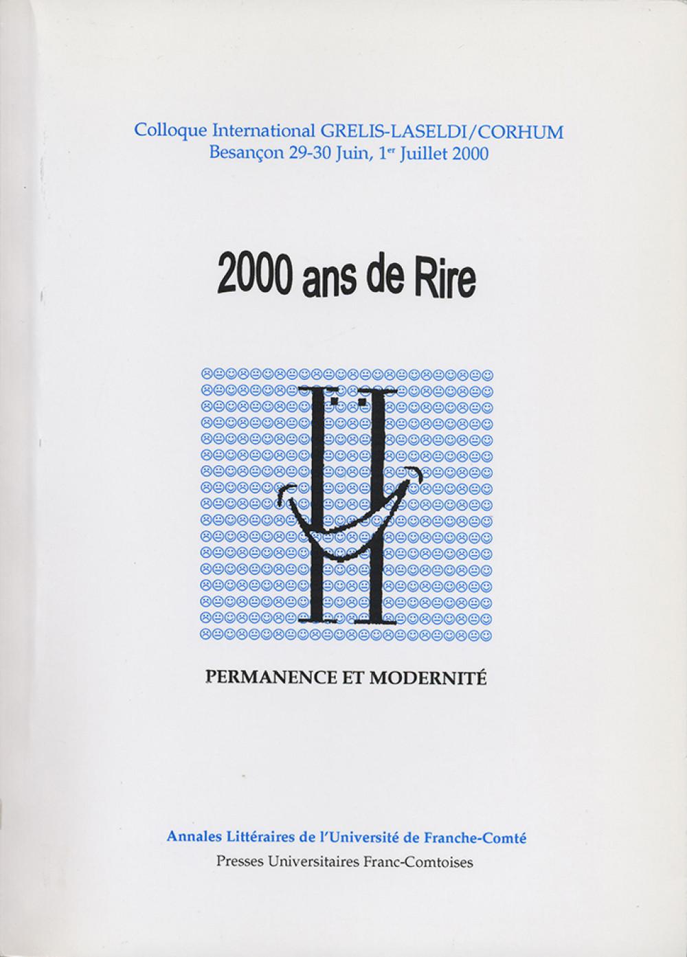 2000 ans de rire - Permanence et modernité