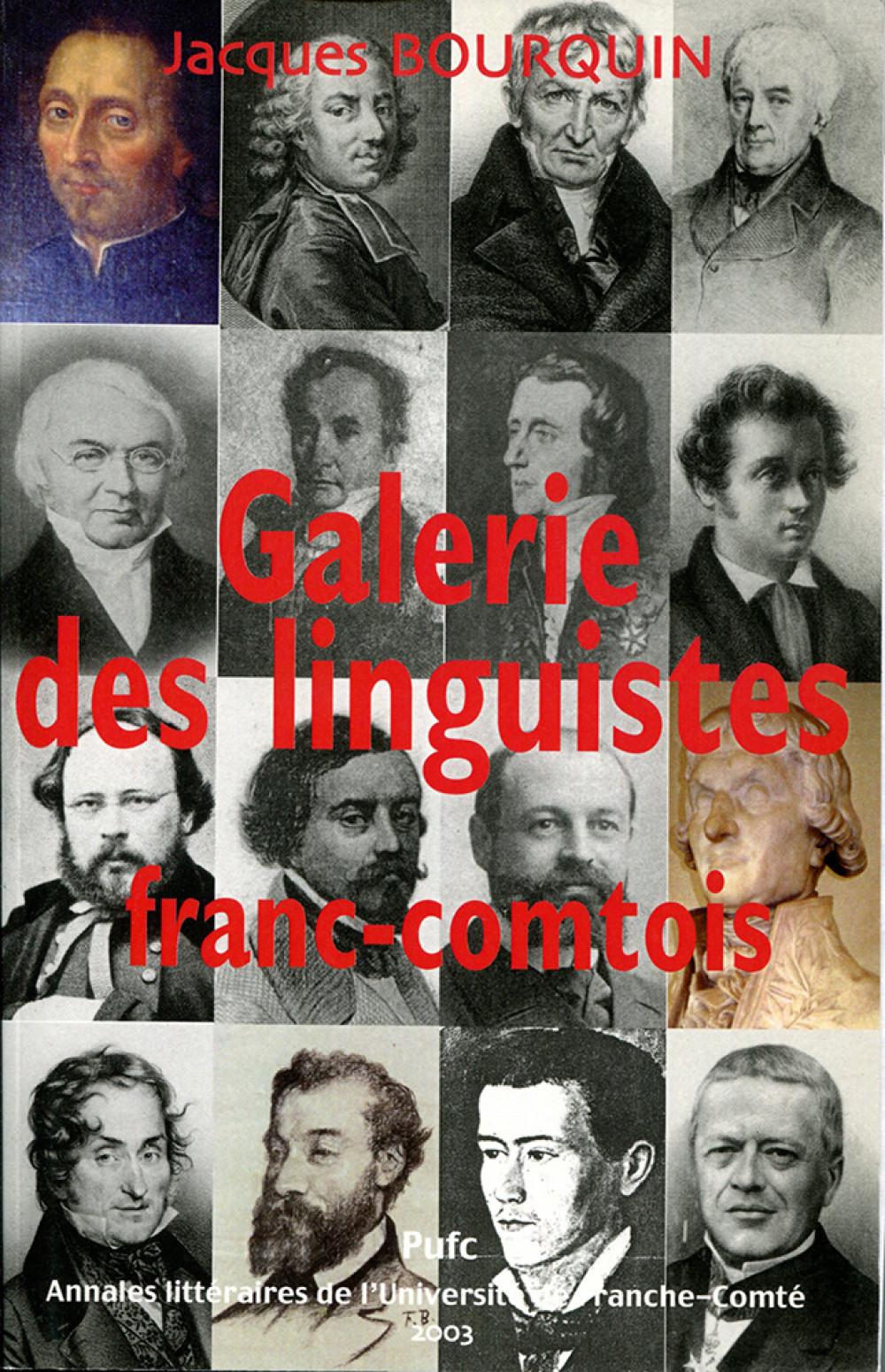 Galerie des linguistes franc-comtois