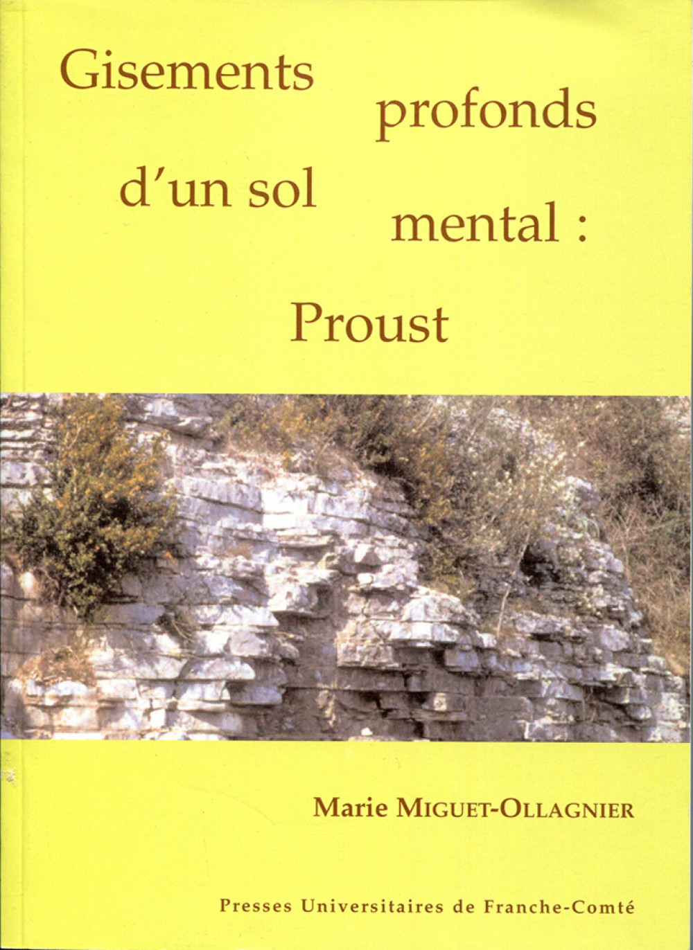 Gisements profonds d'un sol mental : Proust