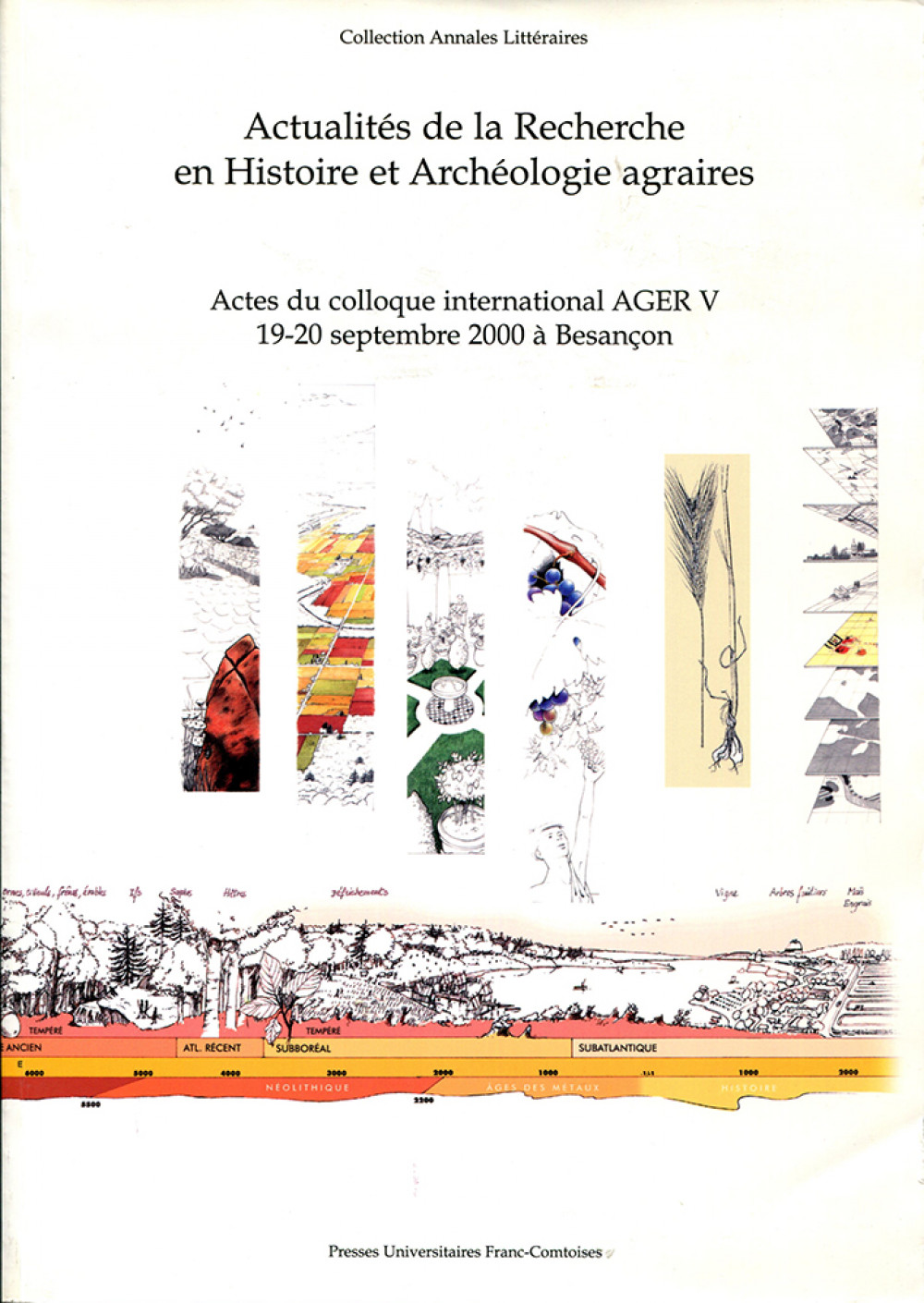 Actualités de la Recherche en Histoire et Archéologie agraires