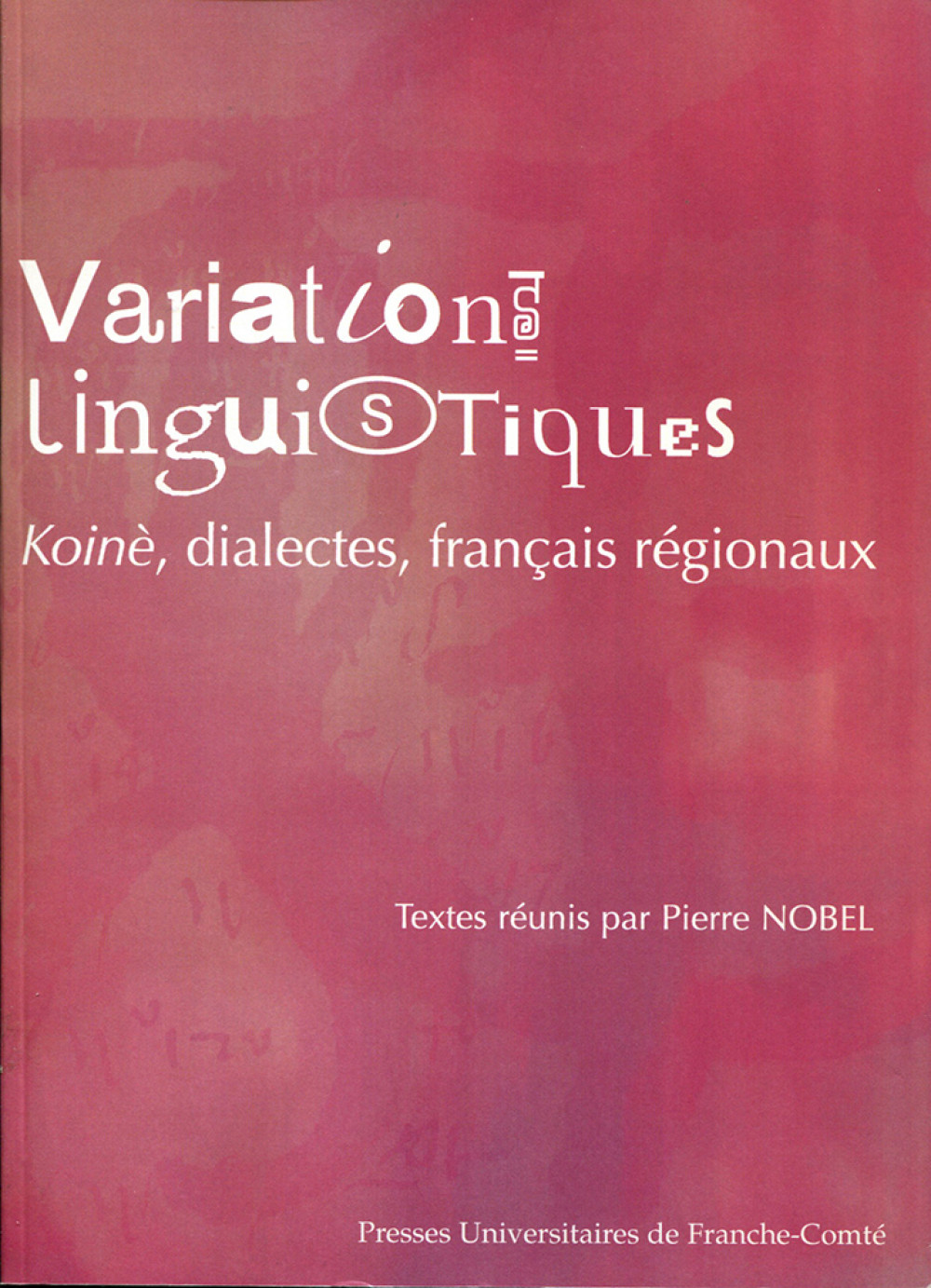 Variations linguistiques