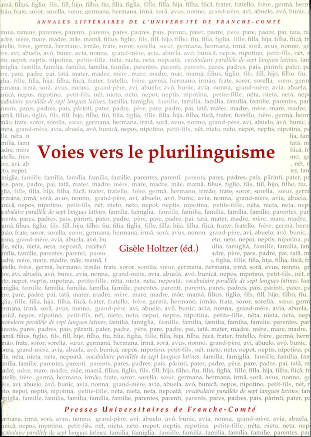 Voies vers le plurilinguisme