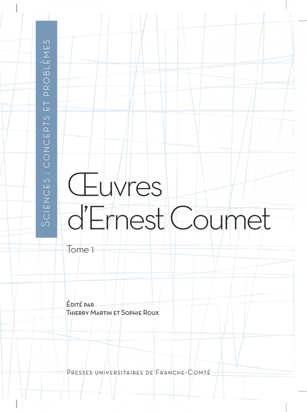 Oeuvres d'Ernest Coumet (t. 1)