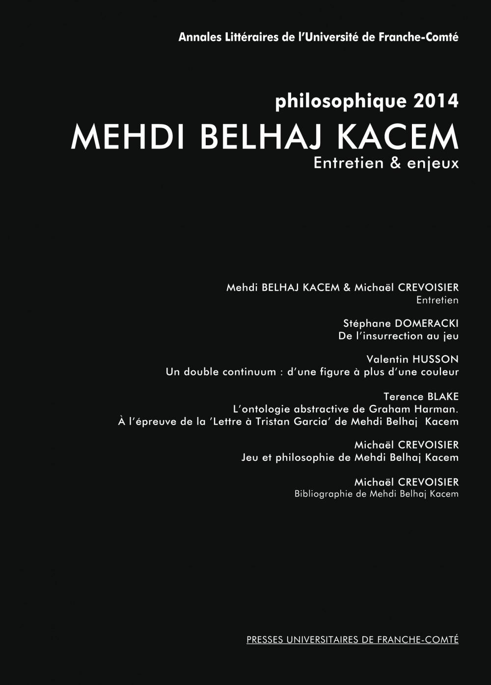 Mehdi Belhaj Kacem