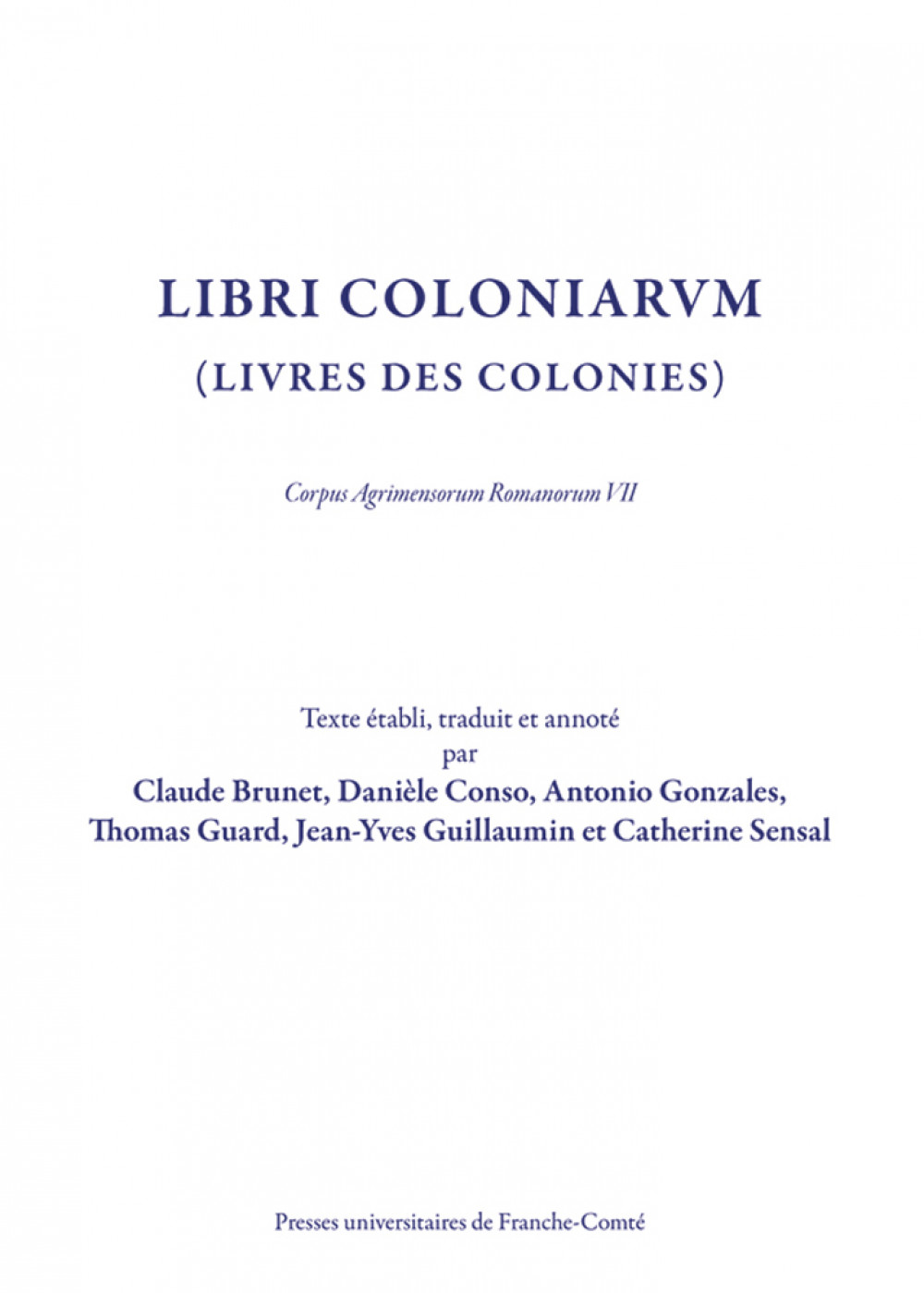 Libri Coloniarum