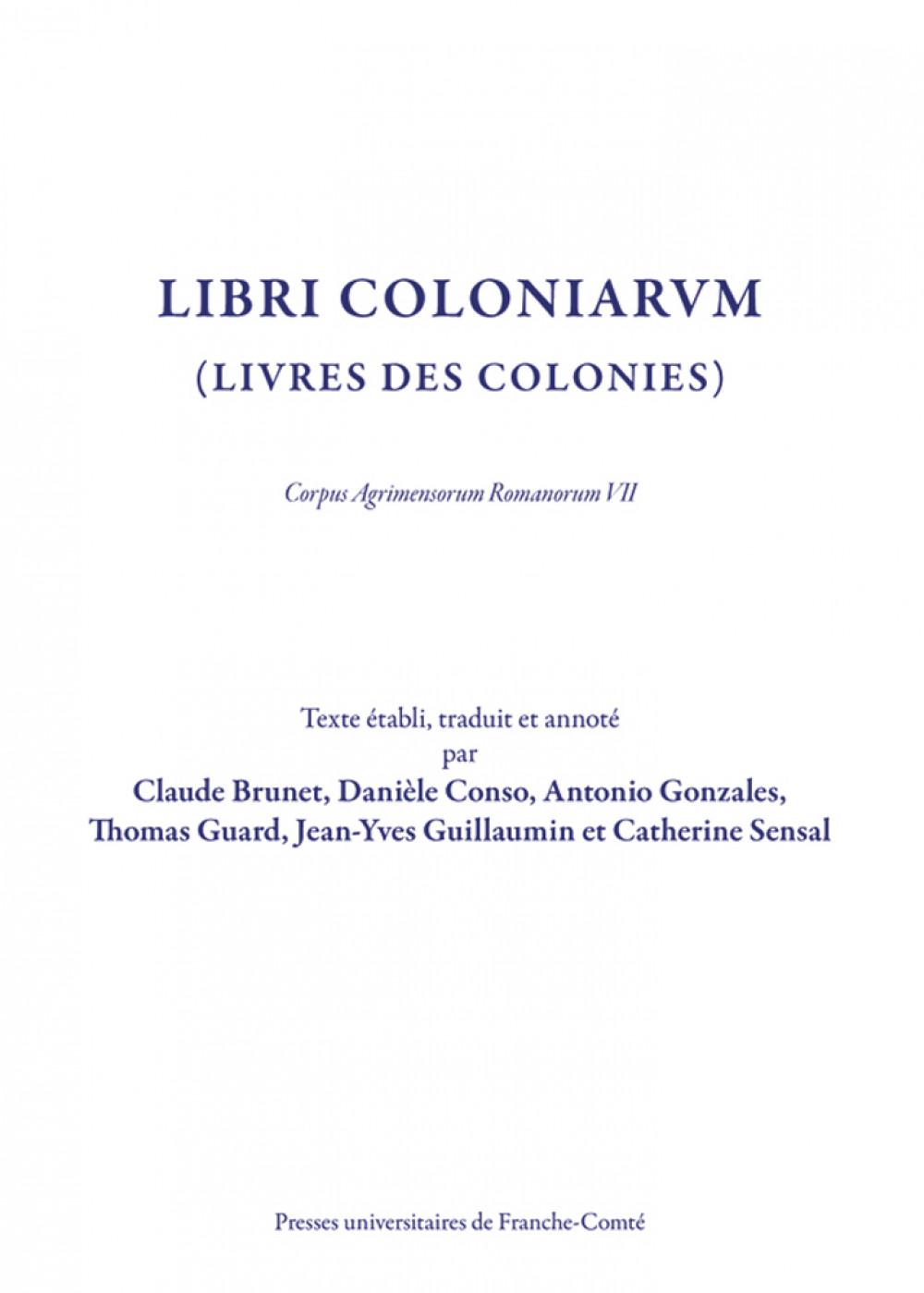 Libri Coloniarum