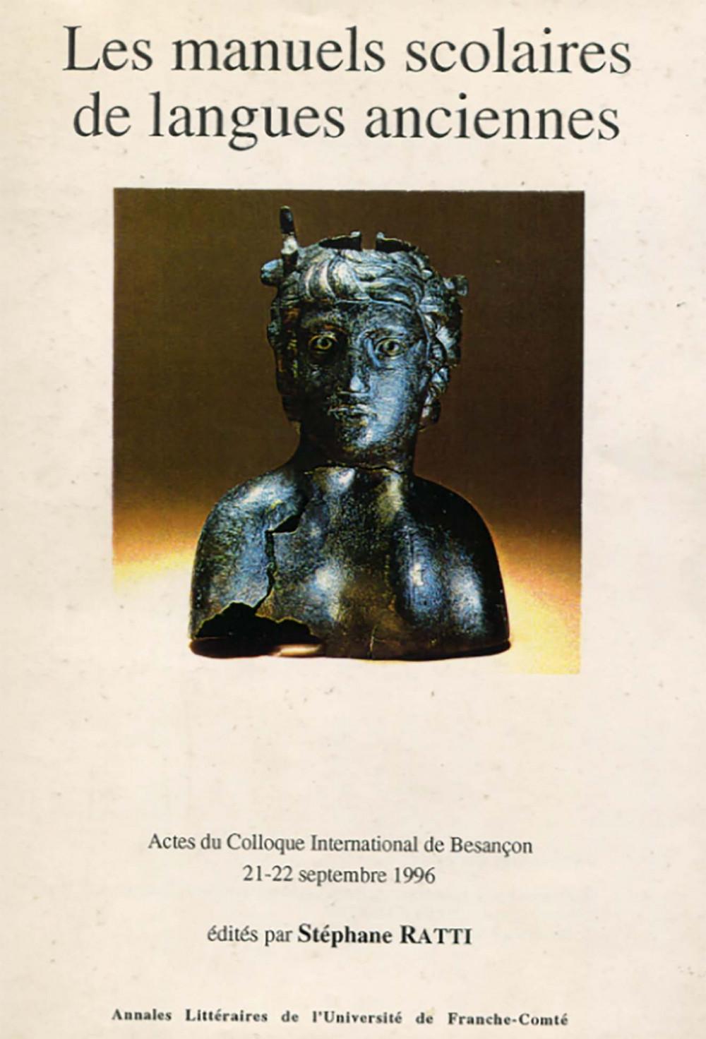 Les manuels scolaires de langues anciennes