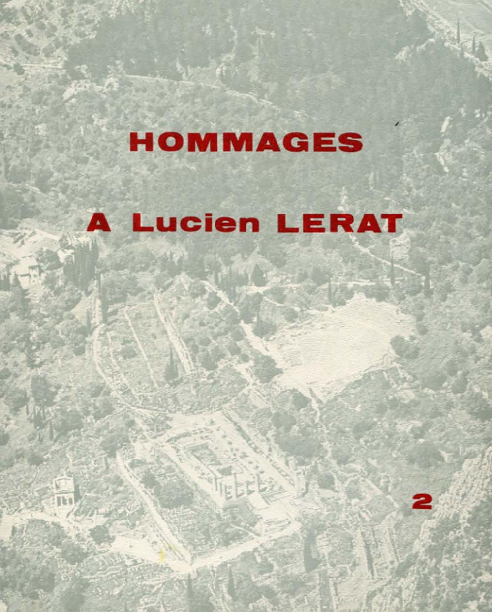 Hommages à Lucien Lerat (vol. I & II)